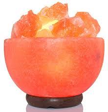 himalayan salt l 100 lbs amskart salt l fire bowl 7 x 6 5 x 6 5 inch 8 10 lbs with