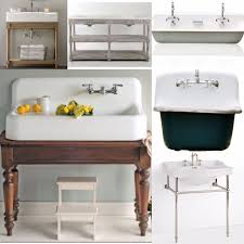 Porcelain Bathroom Vanity Bathroom Sinks Undermount Apron Sink Small Farmhouse Bathroom