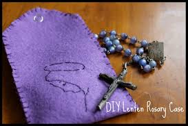 diy rosary friday project simple lenten rosary do small things with