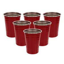 party cups deco stainless steel party cups from camerons products