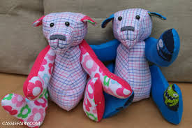 homemade upcycled gifts u2013 how to make a memory bear using baby