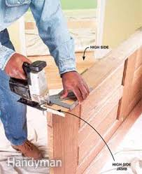 How To Install Interior Door Casing How To Replace An Interior Door Family Handyman