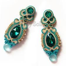 soutache earrings soutache earrings search macrame soutache