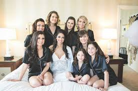 bridesmaid pajama sets getting ready attire what to wear besides robes inside weddings