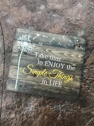 decor signs plank wood signs rustic chalk decor