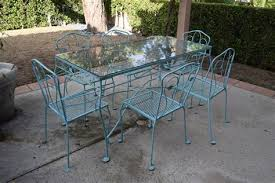 vintage 1950s metal lawn porch glider patio chairs 50s patio