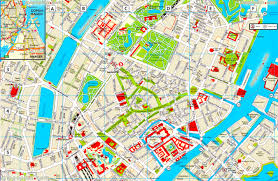 map of copenhagen copenhagen map copenhagen printable detailed