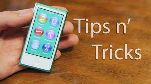 new ipod nano 7th generation tips and tricks youtube