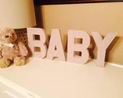 baby 3d letters fabric letters nursery letters nursery