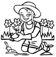 anne story garden smiling flower coloring pages anne story