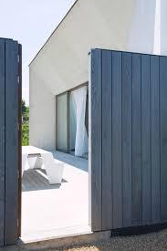 white concrete wall a bright white concrete home designed by clauwers u0026 simon in belgium
