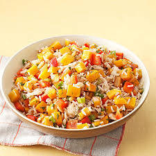 roasted butternut squash rice salad recipe taste of home
