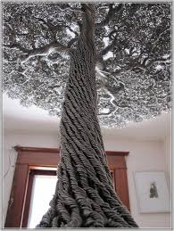 large metal tree sculpture home design ideas