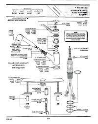 moen kitchen faucet repair manual moen 7400 faucet manual awesome awesome kitchen faucet