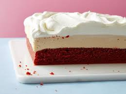 red velvet bourbon cheesecake bars recipe food network kitchen