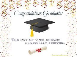 graduation card wording confetti bliss