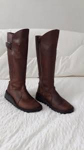 womens boots gumtree fly mol leather boots size 5 in shawlands