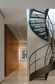 apartment fantastic and groovy spiral staircase design idea with