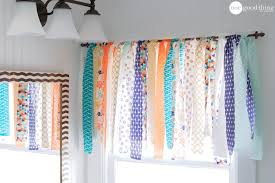 How To Sew Valance How To Make A Shabby Chic Window Valance In Minutes One Good