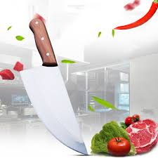 amazon com kofery 7 inch blade stainless steel old hickory amazon com kofery 7 inch blade stainless steel old hickory butcher knife meat cleaver l301 small home kitchen
