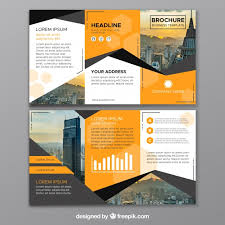 brochure 3 fold template psd trifold brochure vectors photos and psd files free
