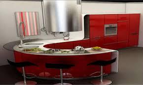 kitchen remodel round island design odd shaped islands modern curag