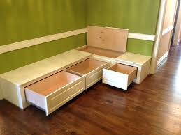 Corner Storage Bench Seat Diy by Banquette Corner Bench Seat With 36 Storage By Prairiewoodworking
