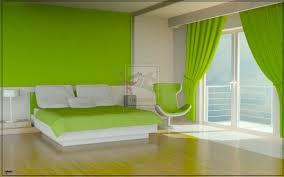 Green Color Bedroom Model Home Interior Design Ideas - Model bedroom design