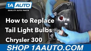 how to replace tail light bulb how to replace install tail light bulbs 2006 chrysler 300 buy parts