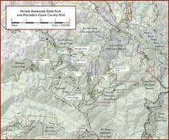 Henry Cowell State Park Map by Portola Jpg