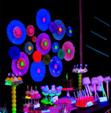 neon party supplies partymano neon party ideas neon themed birthday party ideas
