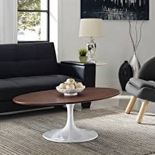 Saarinen Coffee Table Saarinen Style Oval Walnut Coffee Table Take 1 Designs Mid