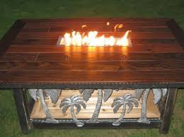 wood fire pit table 2 fire tables sunset metal fab inc