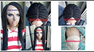 hair braid for a closure how to make box braid wig with no closure frontal youtube