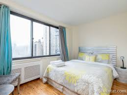 Bedroom Side View by New York Apartment 1 Bedroom Apartment Rental In Upper West Side
