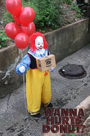 balloon delivery wichita ks local donut shop offers delivery from a creepy clown