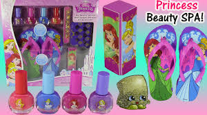 disney princess my beauty spa kit ariel aurora nail polish