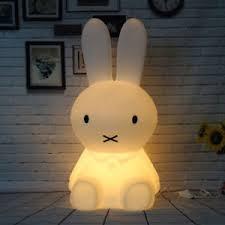 veilleuse chambre bébé grand lapin 50 cm le de chevet veilleuse chambre bébé l cadeau