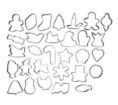 wilton cookie cutter set 30 cookie cutters