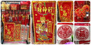 chinese new year wall decoration et speaks from home