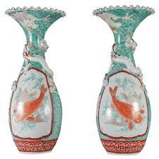 Antique Vases For Sale Japanese Fine Antique Tall Hand Cast Bronze Bud Vase Signed Mint