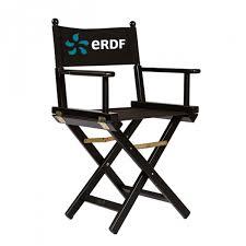 chaise metteur en sc ne b b fauteuil metteur en scène professionnel en bois noir