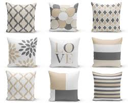 neutral accent pillows pillow covers neutral decor