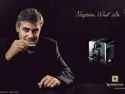 nespresso commercial female actress george clooney defends his coffee commercials for nespresso