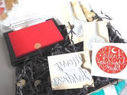 christmas block printing craft kit u2013 hedge and hog prints