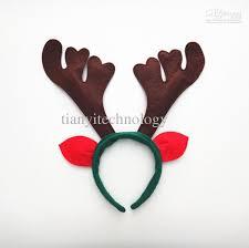 deer headband reindeer antlers ears headband christmas kids costume