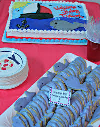 nautical theme baby shower ahoy it s a boy nautical baby shower orientaltrading we got