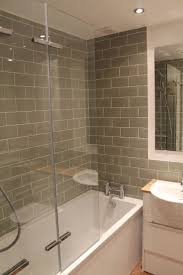 Beveled Subway Tile Shower by Best 25 Tub Glass Door Ideas On Pinterest Shower Tub Bathtub