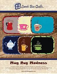 Mug Rug Designs Amazon Com The Ultimate Mug Rug Cd Vol 1 40 Mug Rug Designs