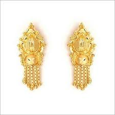 gold earing indian jewellery design bridal gold earring collection 2010